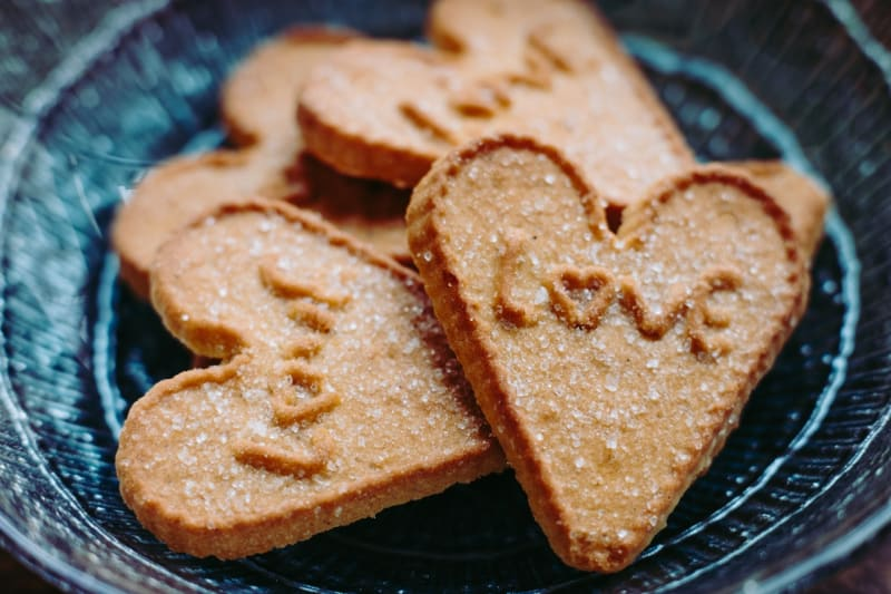 Homemade cookies for wedding