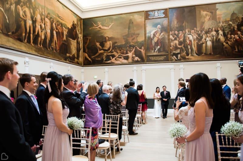 RSA House wedding ceremony