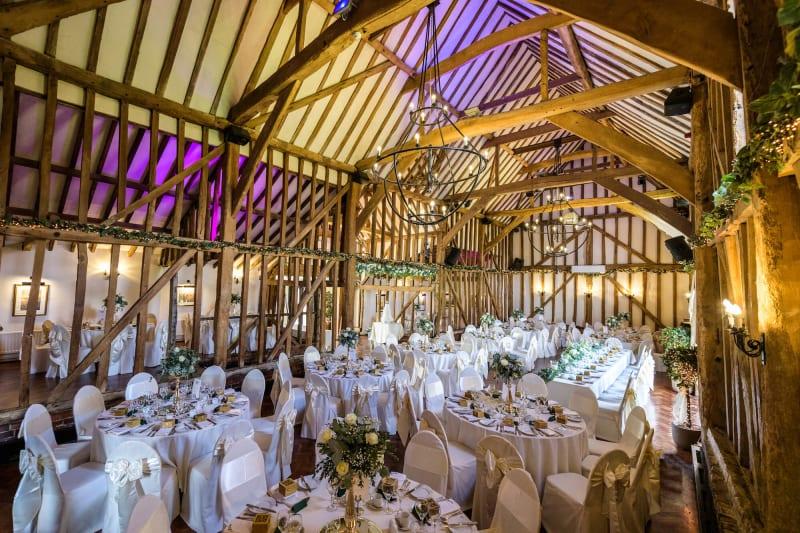 Crondon Park Gold Wedding Venue