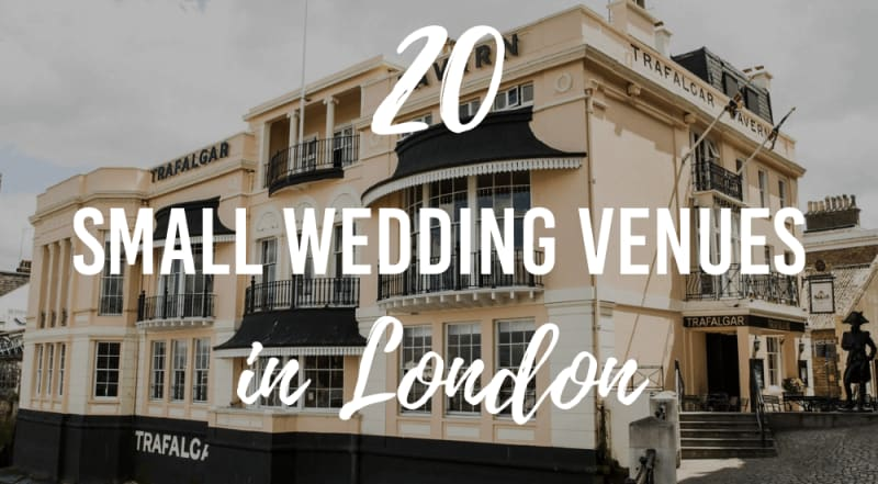 20 small wedding venues in london
