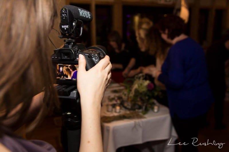 bridebook.co.uk Wedding Videographer filming
