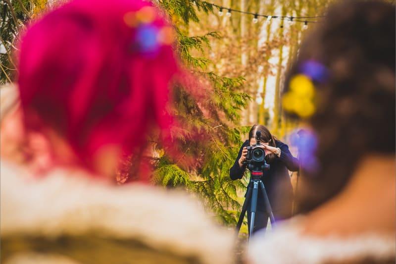 bridebook.co.uk Wedding Videographer in action