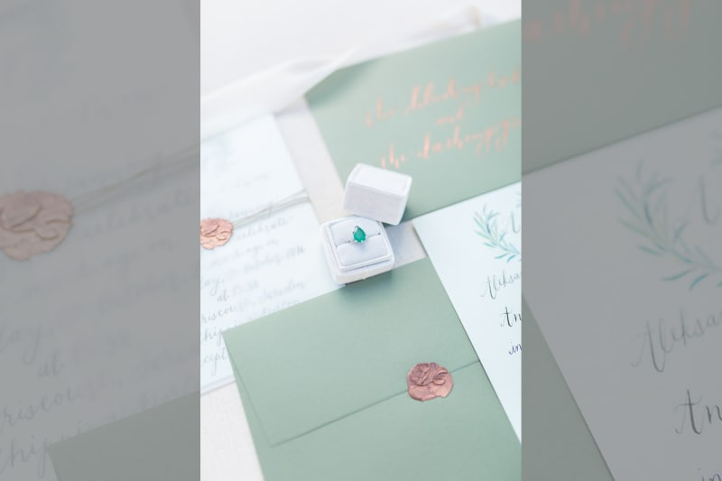 bridebook.co.uk bloved real wedding ring and stationery