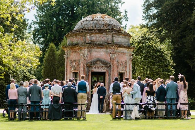 bridebook.co.uk love my dress real wedding ceremony