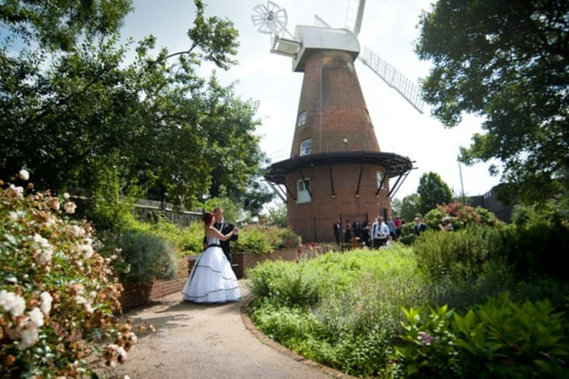 www.bridebook.co.uk Rayleigh Windmill