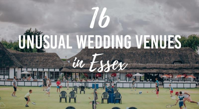 unusual wedding venues in essex