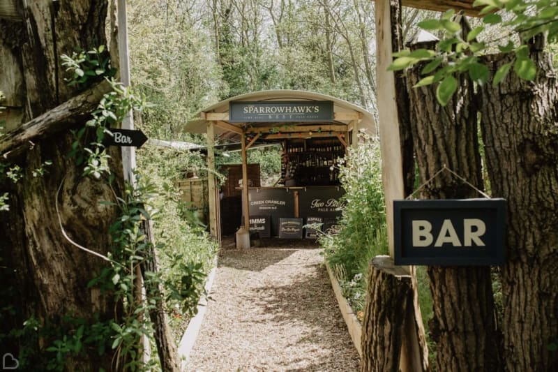 upthorpe wood outdoor wedding venues
