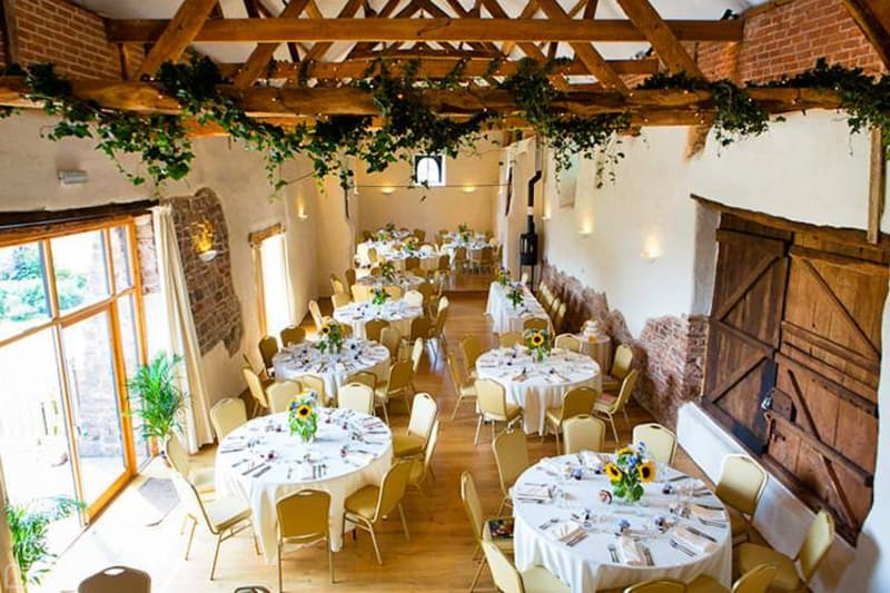 the corn barn, wedding venue in dorset
