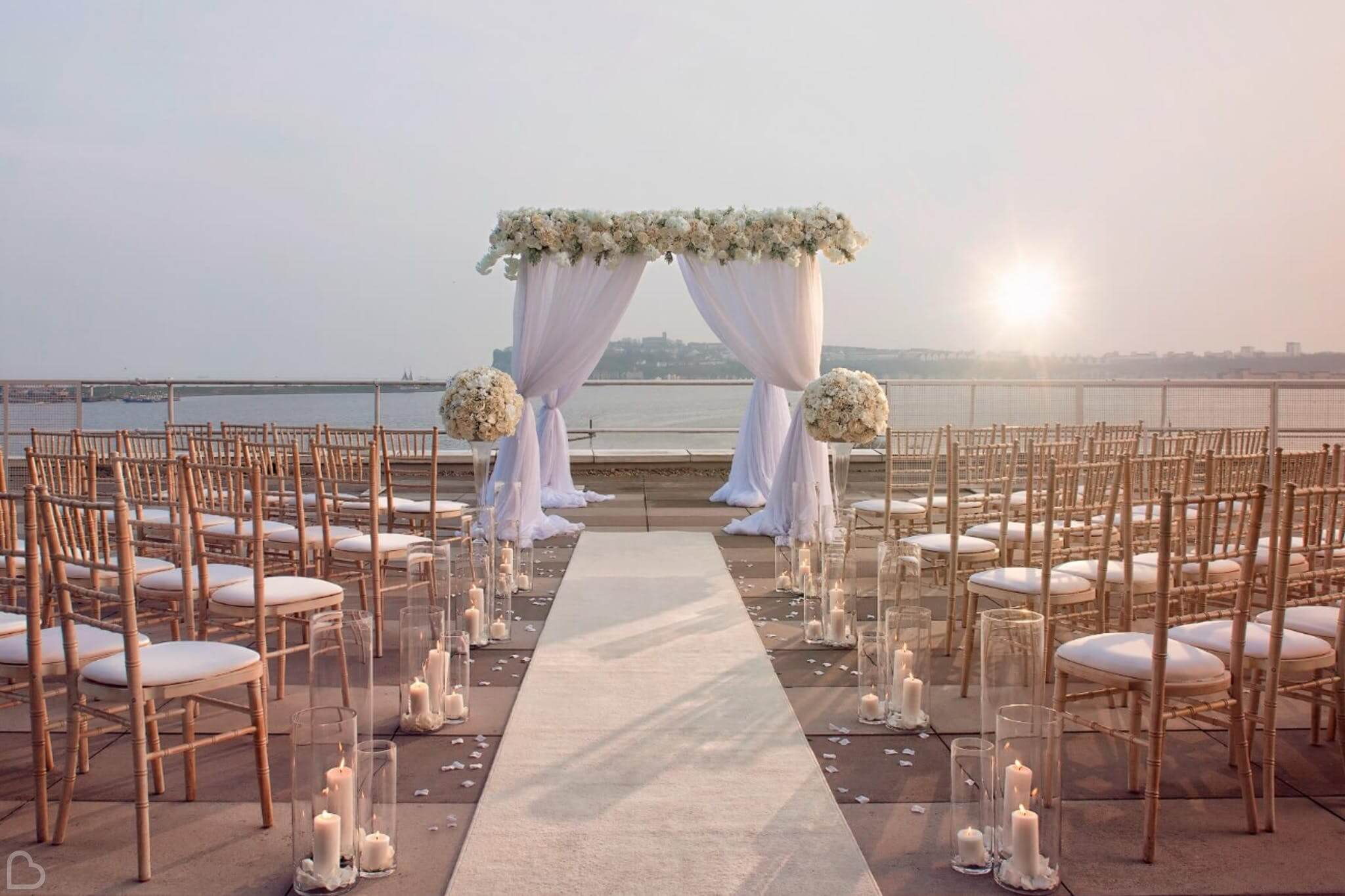a beautiful beach wedding in the uk