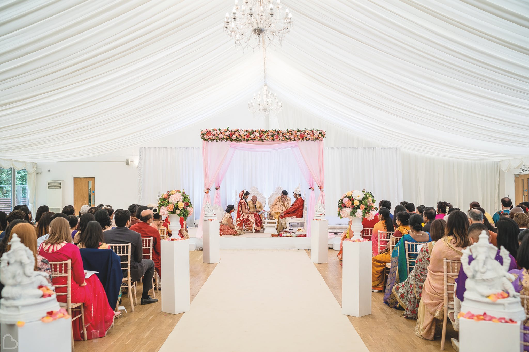Asian wedding at Hylands Estate