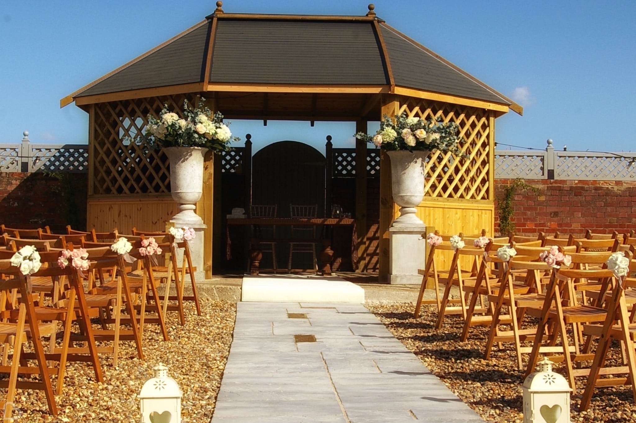 Rickwill Gazeebo Outdoor Wedding Venue Essex
