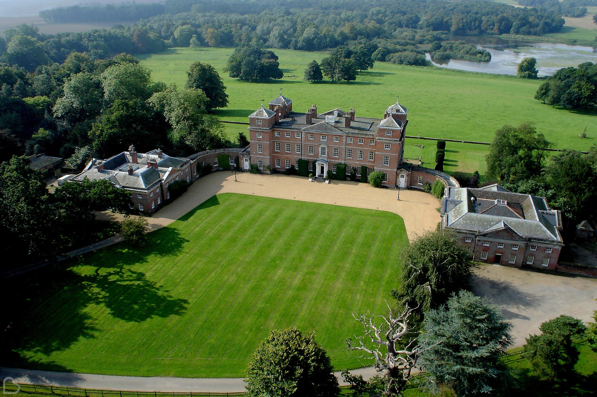 Kimberley Hall, a manor house wedding venue in Norforlk