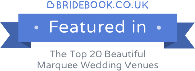 Missenden Abbey featured in Beautiful Marquee Wedding Venues article on Bridebook