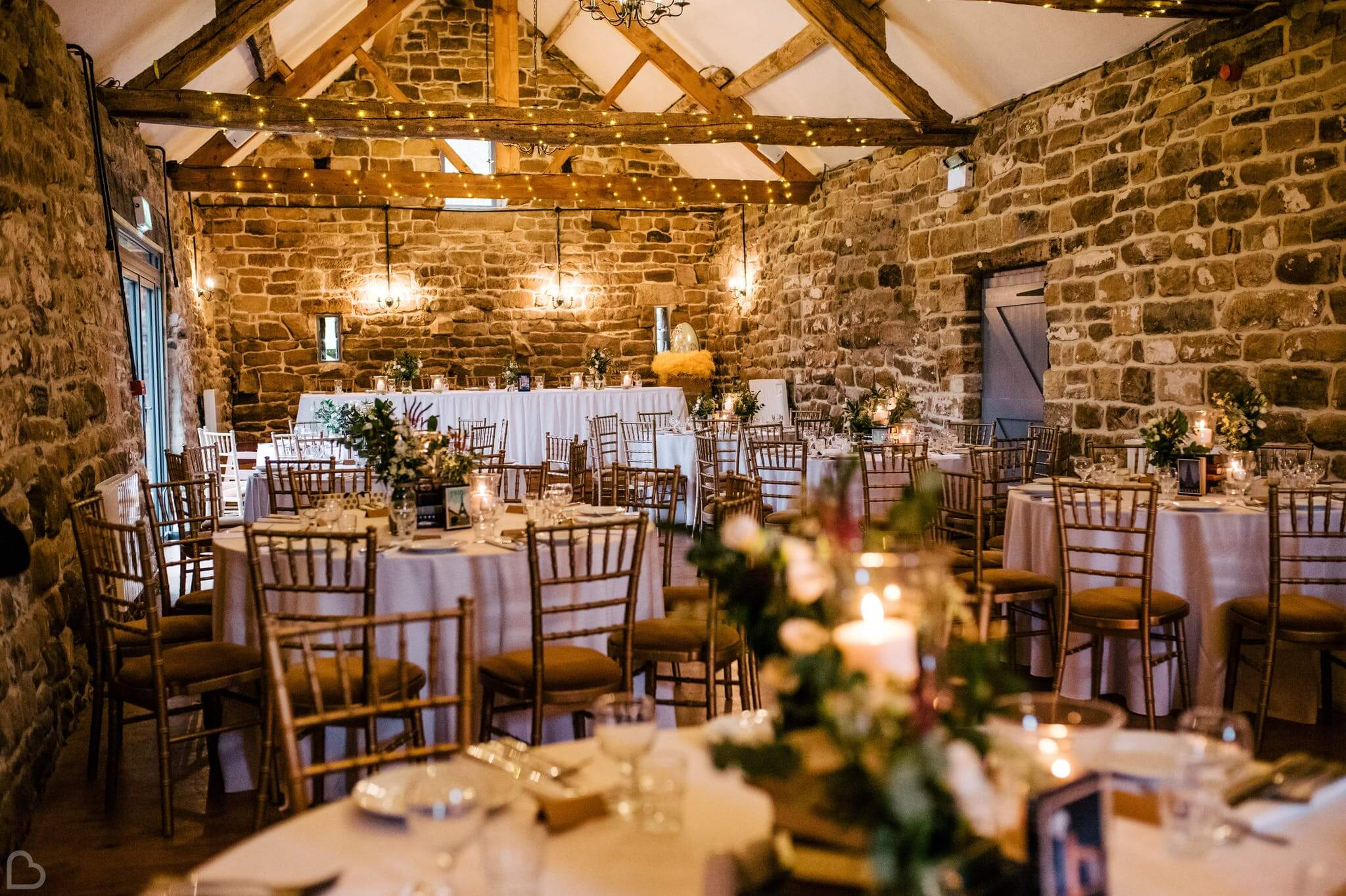 Danby Castle dinner hall