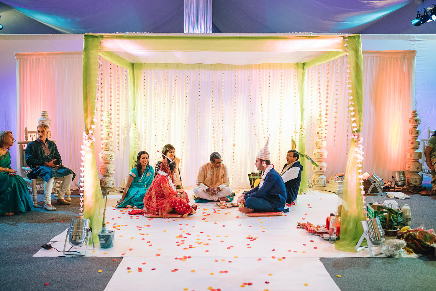 Asian wedding at hayed events ltd.