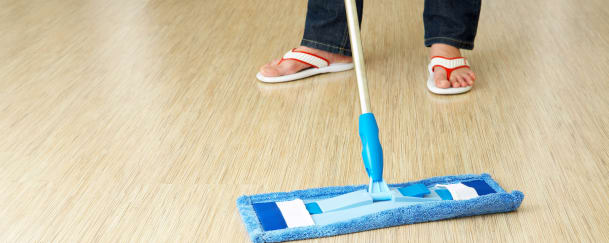 cleaning premises