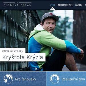 Vytvořili jsme nové oficiální stránky Kryštofa Krýzla