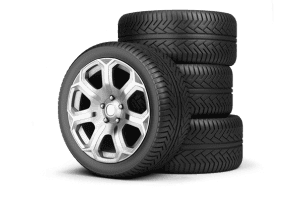 Stack of four tires - best tire prices