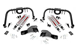 suspension components for a dual shock kit