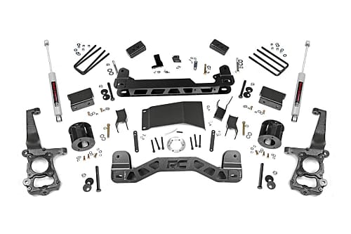 suspension components for a Ford F150 lift kit