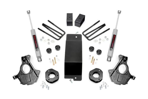 suspension components for a GM 1500 lift kit