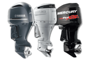 Yamaha, Suzuki, and Mercury outboard motors