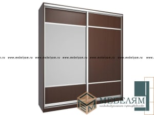 Изготовление, ремонт, модернизация торговой и корпусной мебели в Москве - Шкаф купе на заказ №3