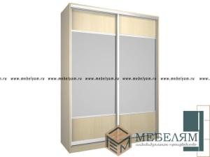 Изготовление, ремонт, модернизация торговой и корпусной мебели в Москве - Шкаф купе на заказ №2