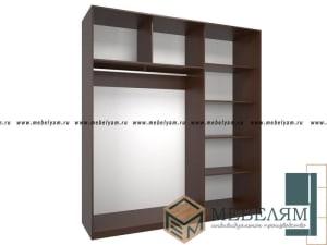 Изготовление, ремонт, модернизация торговой и корпусной мебели в Москве - Шкаф купе №1