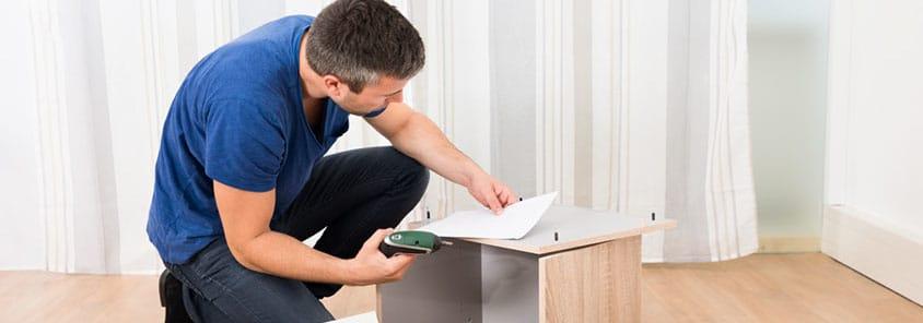 Как собрать и установить мебель на дому самостоятельно