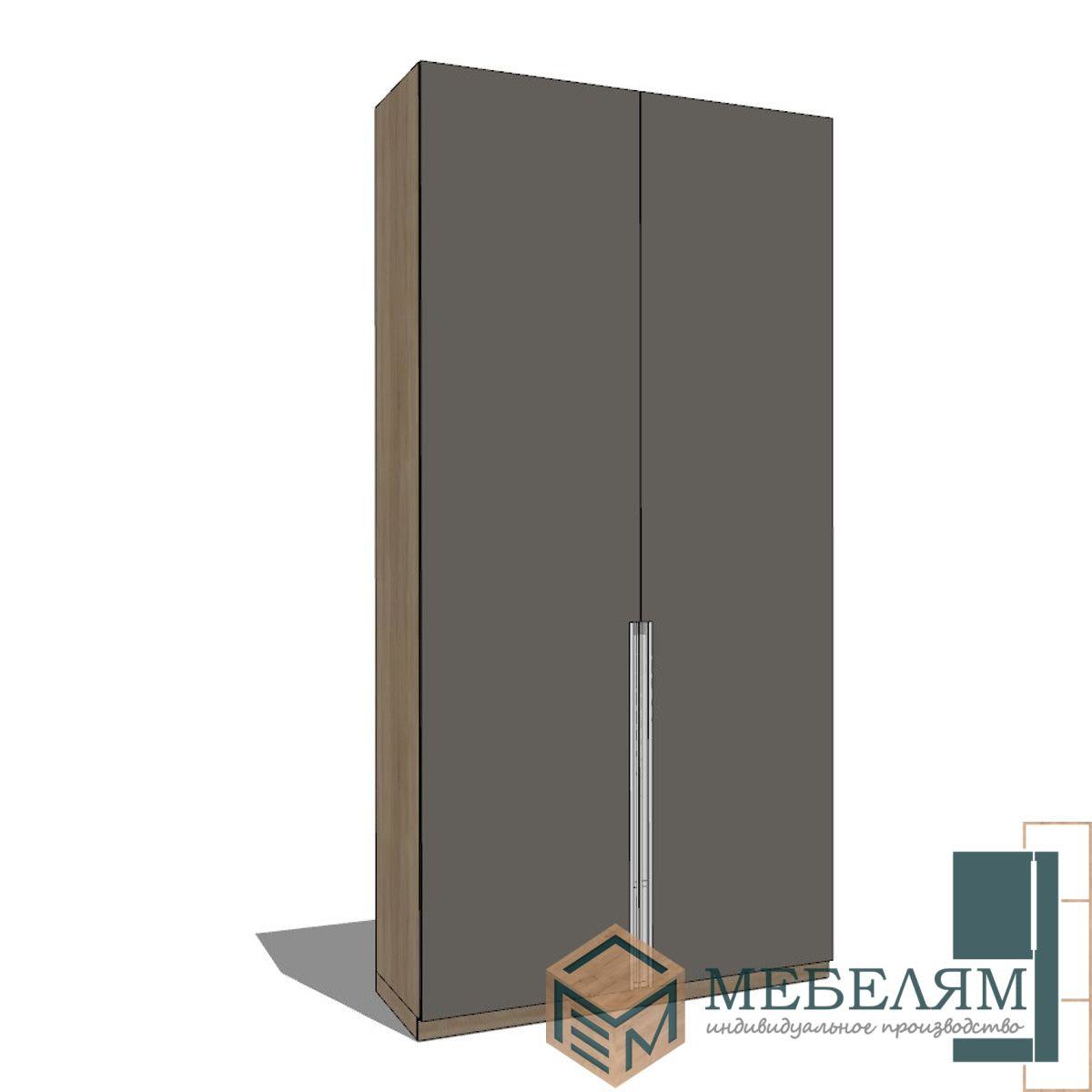 Изготовление, ремонт, модернизация торговой и корпусной мебели в Москве - Шкаф Монако Оникс 3