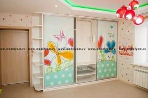 Изготовление, ремонт, модернизация торговой и корпусной мебели в Москве - Шкафы-купе для детской комнаты