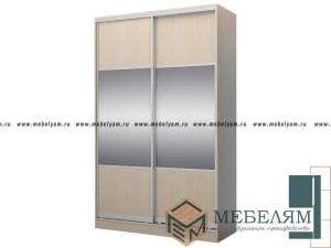 Изготовление, ремонт, модернизация торговой и корпусной мебели в Москве - Шкаф купе на заказ №6