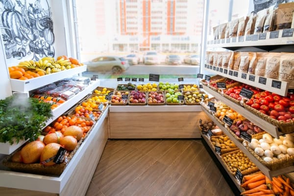 Мебель для отдела Овощей