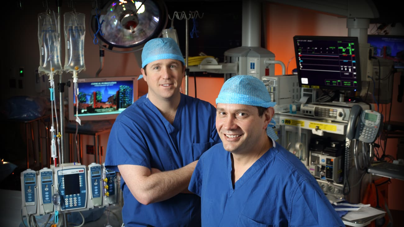 Matthew Weiss, M.D., and Christopher Wolfgang, M.D., help lead the fight against pancreatic cancer at Johns Hopkins