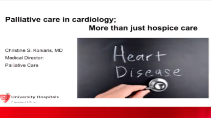 Palliative Care in Cardiology: More Than Just Hospice Care