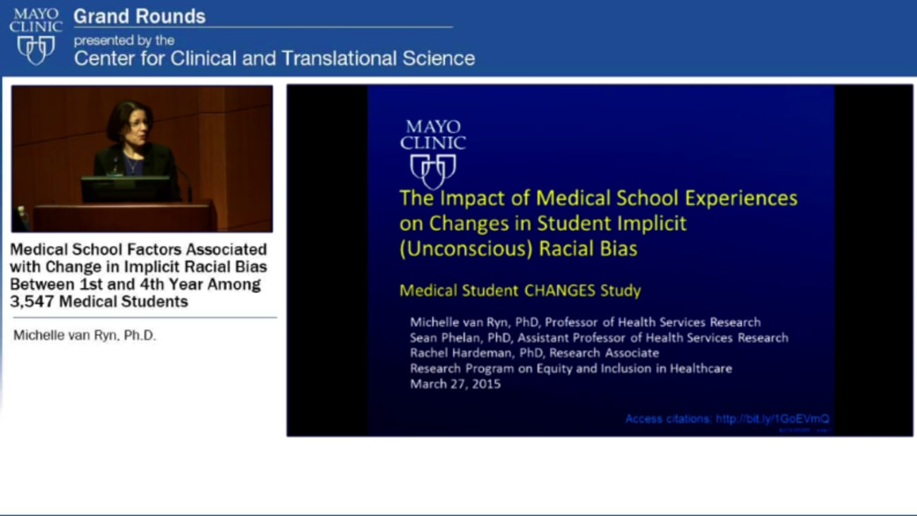 Grand Rounds: Medical School Factors Associated with Change in Implicit Racial Bias Between 1st and 4th Year Among 3,547 Medical Students