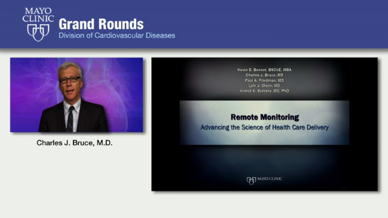 Grand Rounds: Remote Monitoring - Advancing the Science of Health Care Delivery