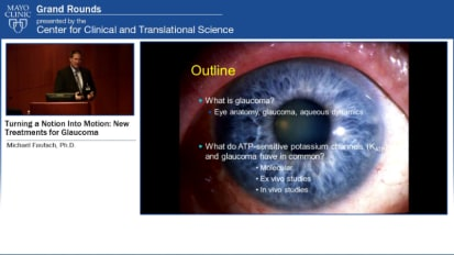 Grand Rounds (CME): Turning a Notion Into Motion New Treatments for Glaucoma