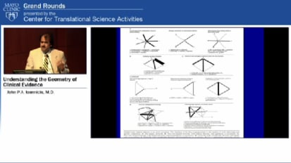 Grand Rounds (CME): Understanding the Geometry of Clinical Evidence