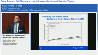 Grand Rounds: Cell Therapy for Heart Disease: Cardiac and Vascular Targets