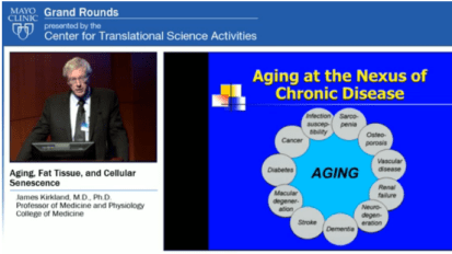 Grand Rounds: Aging, Fat Tissue, Cellular Senescence