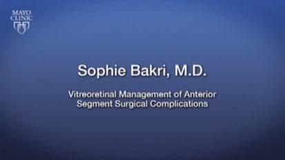 Macular hole repair - Mayo Clinic