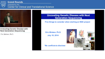 Grand Rounds: Unraveling Genetic Disease with Next Generation Sequencing