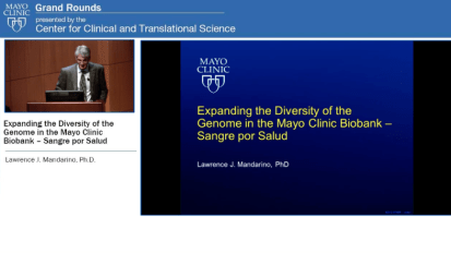 Expanding the Diversity of the Genome in the Mayo Clinic Biobank – Sangre por Salud