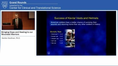 Grand Rounds (CME): Bringing Hope and Healing to our Wounded Warriors