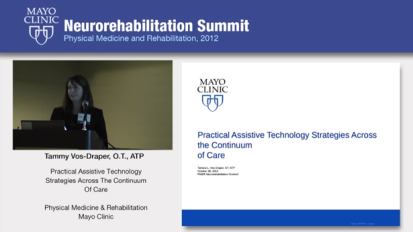 Practical Assistive Technology Strategies Across The Continuum of Care