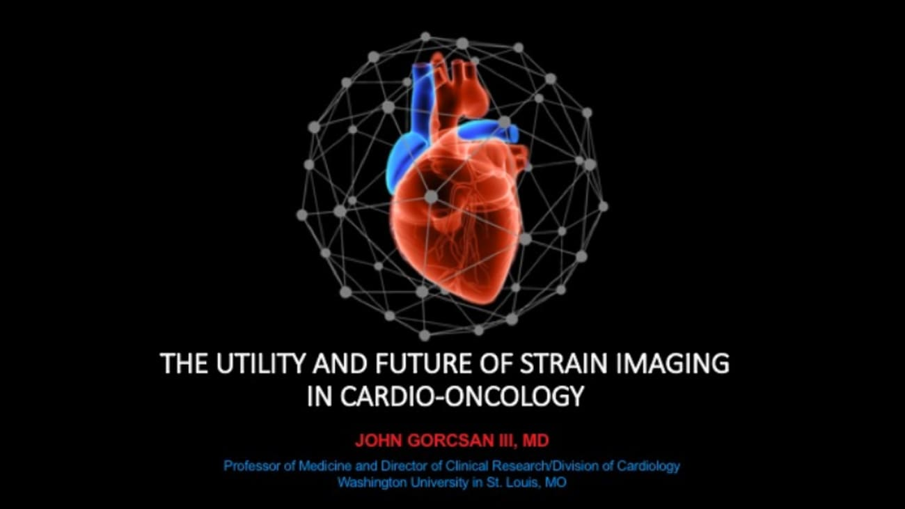 The Utility and Future for Strain Imaging in Cardio-Oncology