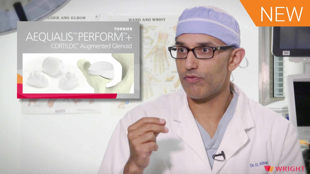 Surgeon Interview with Dr. George Athwal: Bone Preserving TSA using an Augmented Glenoid [AP-010607]