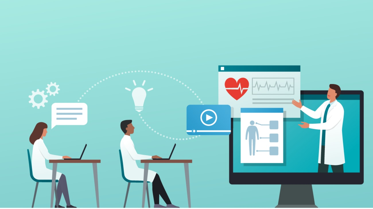 Innovative Virtual Tactics for Educating, Training and Engaging Physicians
